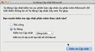 Tự Cập nhật Microsoft